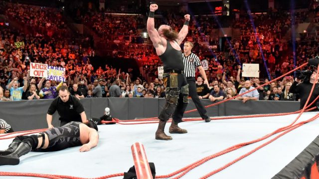 Braun Strowman and Big Show destroy the ring
