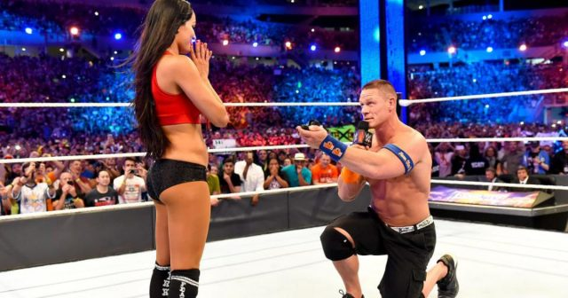 John cena proposes to bella