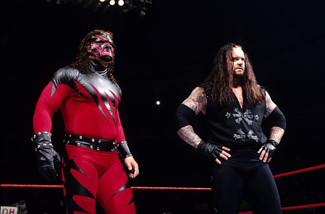 kane and the undertaker