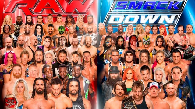 WWE RAW and Smackdown Live stars