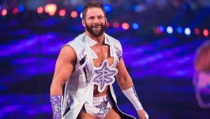 Zack Ryder visits the NECA booth at San Diego Comic-Con International