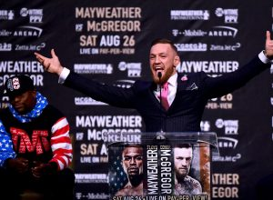 McGregor/Mayweather - Press Conference