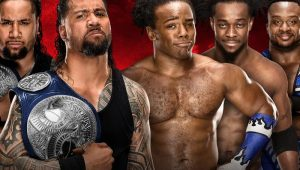 The New Day fight tooth-and-nail to dethrone SmackDown Tag Champions The Usos: WWE Battleground 2017
