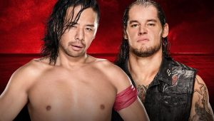Shinsuke Nakamura and Baron Corbin exchange vicious strikes in a brutal bout: WWE Battleground 2017