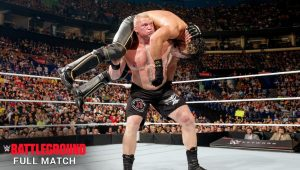Full Match: Brock Lesnar Vs. Seth Rollins at WWE Battleground