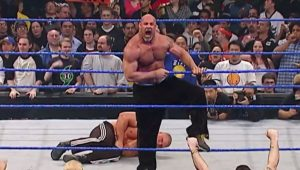 Video: Goldberg is Arrested After Attacking Brock Lesnar