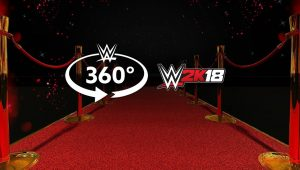 WWE 2K18 SummerSlam Kickoff Event in 360°