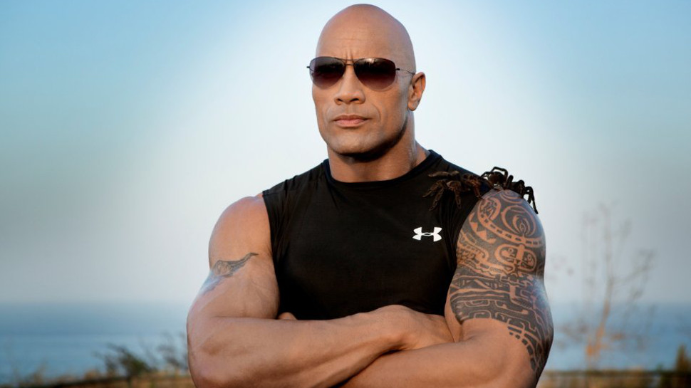 The Rock Shares A Motivational Story The Rock S First