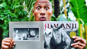The Rock Reveals Jumanji Movie Trailer (Video)