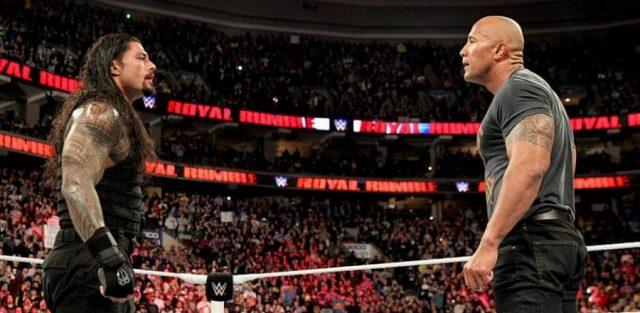 The Rock & Roman - Royal Rumble 2015