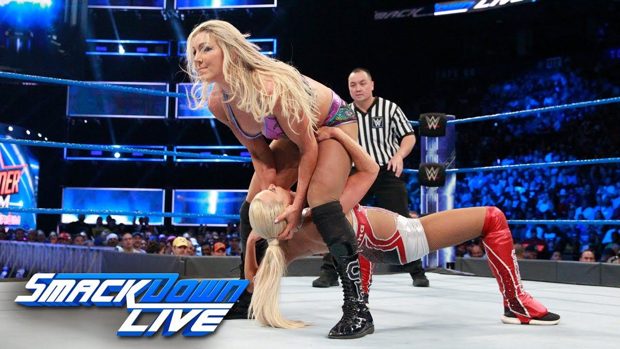 Charlotte Reacts To Her Wardrobe Malfunction On Smackdown Live Prowrestling Com