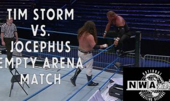 nwa empty arena match