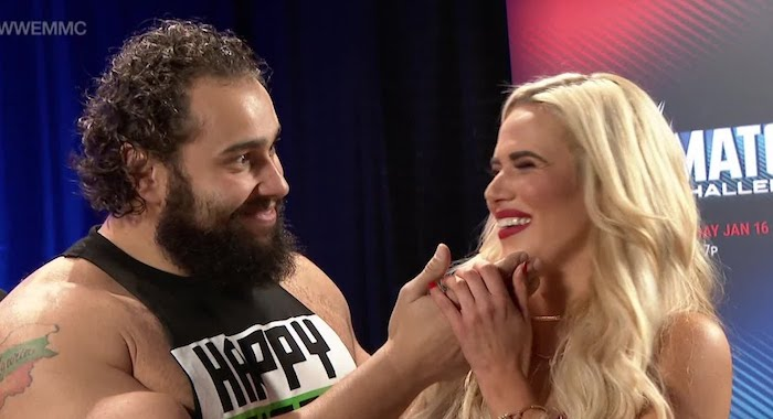 Are lana and rusev still dating