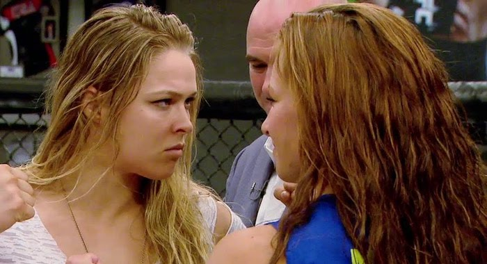 Ronda Rousey: Less Is More