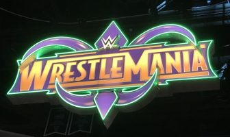wrestlemania 34 set