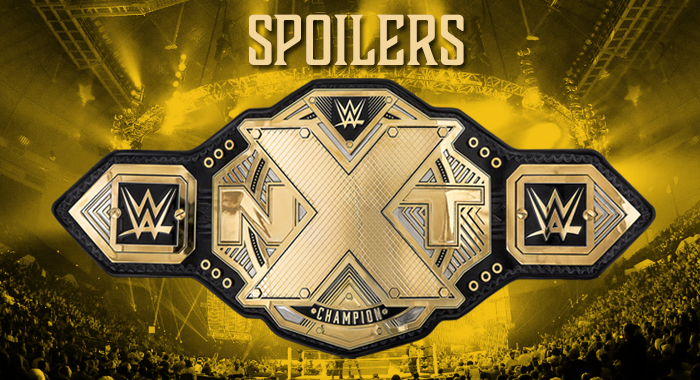 New WWE NXT Singles Title Coming Soon