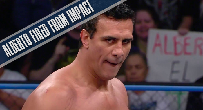 Alberto El Patron Released from Impact Wrestling
