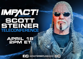 LISTEN: Scott Steiner Appears On IMPACT Media Call; Shoots On Hogan & Dixie Carter, Rips Mexicans, WWE HOF & More