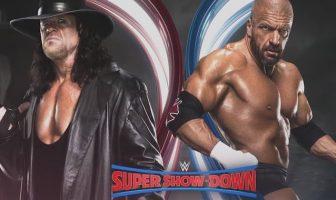 triple h vs undertaker