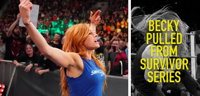 BREAKING: Becky Lynch Pulled from Survivor Series