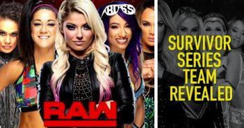 Alexa Bliss Reveals WWE Raw Women's Survivor Series Team; Updated PPV Card Feat. 8 Matches