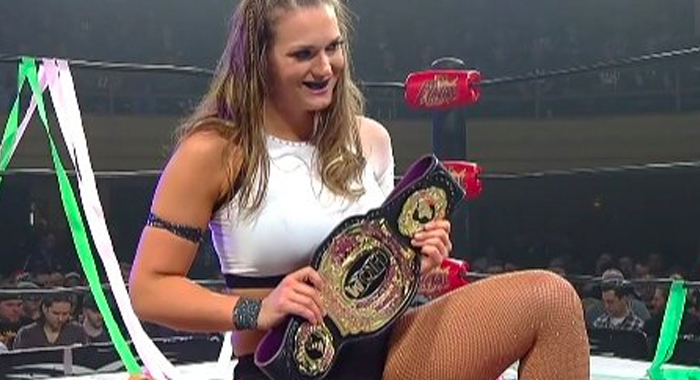 ROH Women of Honor Champion Kelly Klein Praises Becky Lynch on Twitter - ProWrestling.com