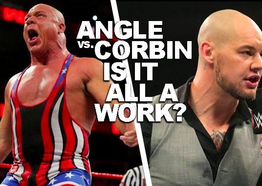 "Backstage News On Plans For Kurt Angle's WrestleMania Retirement & Baron Corbin Potentially Being a ""Work"""