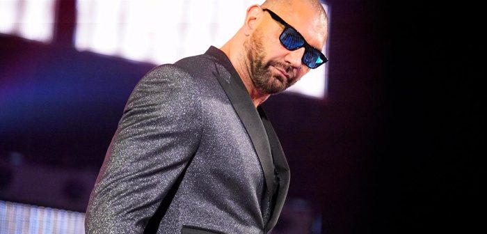 Dave Bautista Announced for WWE Hall of Fame Class of 2020