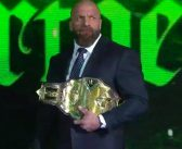 NXT Championship Vacated, Triple H Reveals Its Future
