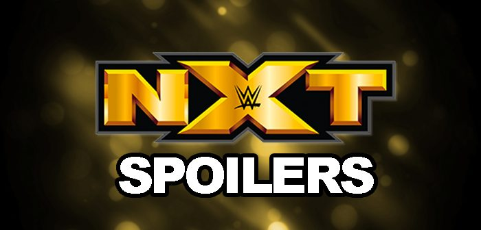 SPOILERS: WWE NXT Television Taping Results for August & September