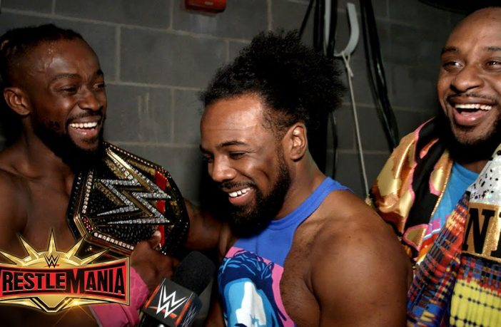 Watch: The New Day React To Kofi Kingston Becoming WWE Champion