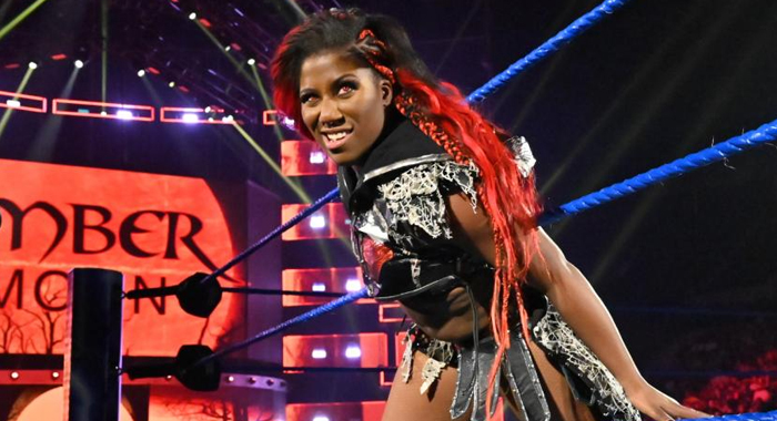 Ember Moon WWE Superstar