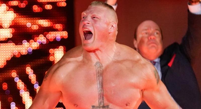 Brock Lesnar Advertised For Next Week's WWE Raw