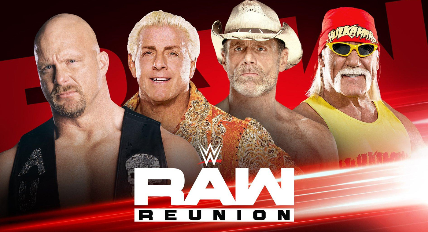 Impact Star Rob Van Dam Appears on WWE Raw Reunion Special