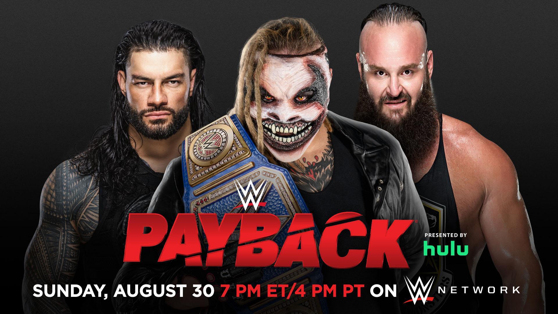 WWE Confirms Roman Reigns' Payback Match
