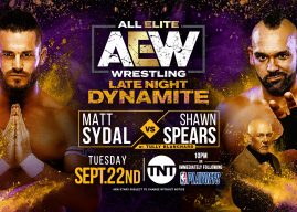 9/22 AEW Late Night Dynamite Results: Matt Sydal vs Shawn Spears, Ben Carter Does It Again, Brandi Rhodes vs Anna Jay