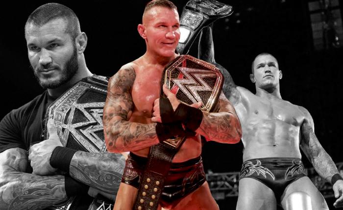 Randy Orton WWE Champion