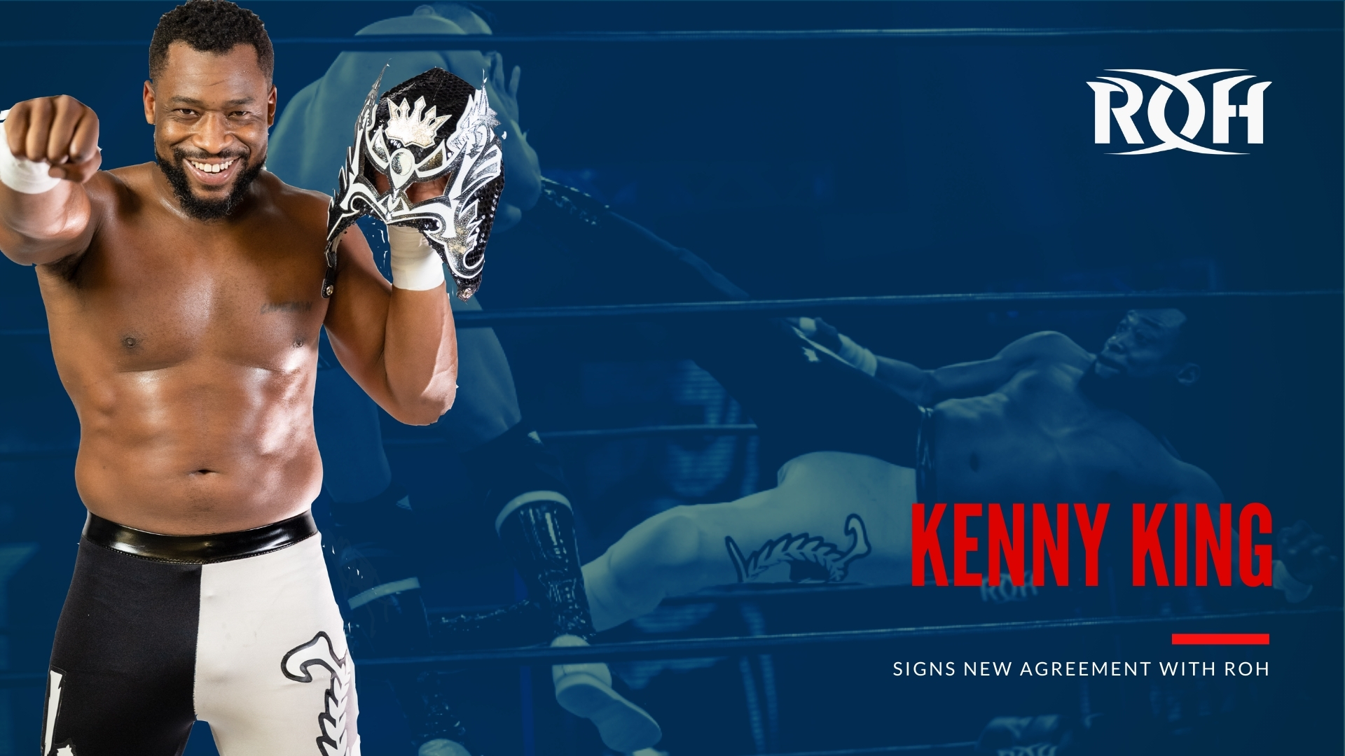 Kenny King Ring of Honor