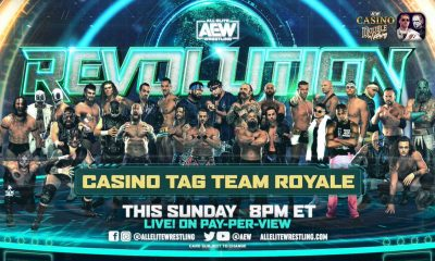 AEW Revolution Casino Tag Team Royale