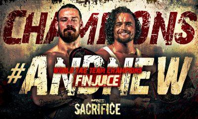 FinJuice IMPACT World Tag Team Titles